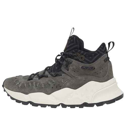 MOHICAN MAN Leather sneakers Grey 2013147029113-30