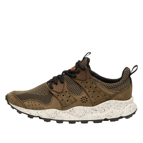 CORAX MAN Leather sneakers Military 2014302030F03-30