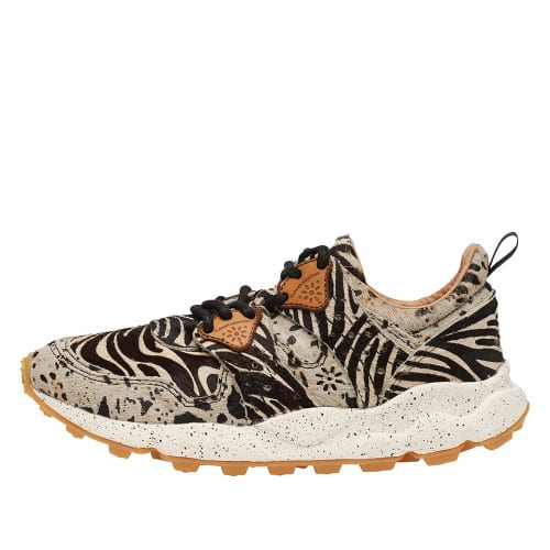 CORAX WOMAN Leather sneakers TIGER PRINT 2014303030D03-30