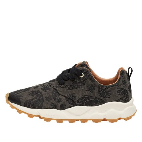 PAMPAS WOMAN Leather sneakers Grey 2014307020B03-30