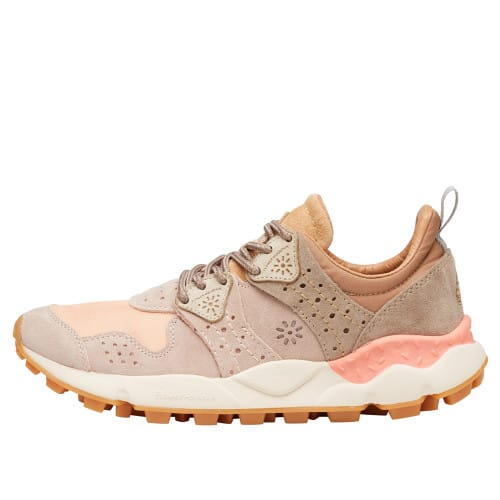 CORAX WOMAN Technical fabric and suede sneakers Pink 2015284010M02-30