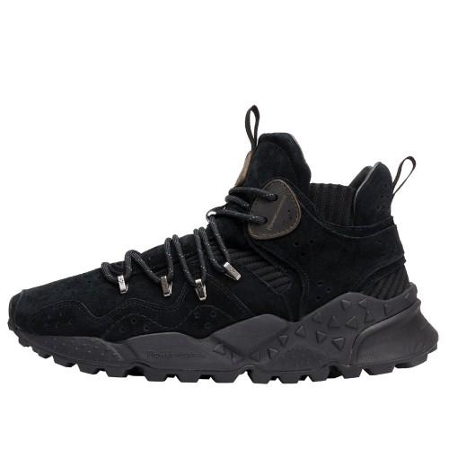 DUNE MAN High-top sneakers featuring metal eyelet detail Black 2501984010A01-30