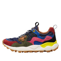 YAMANO 3 WOMAN - Sneaker in technical fabric and suede - Multicolour