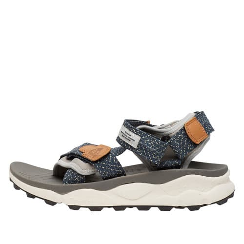 NAZCA 2 MAN Technical fabric sandals Navy/Grey 0502689040C01-30