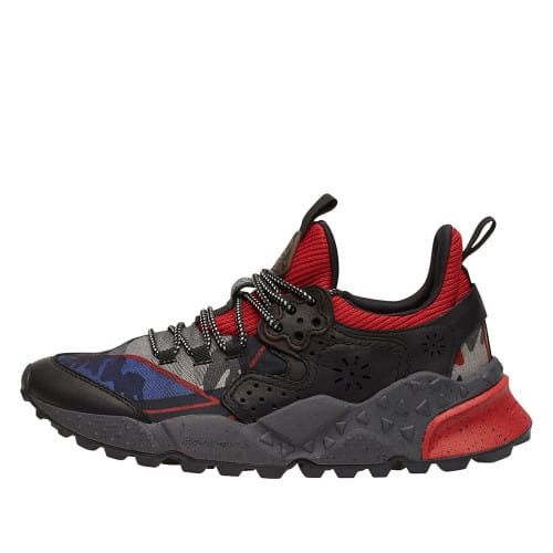 KOTETSU MAN Leather shoes Black-Red 2014304051A17-30