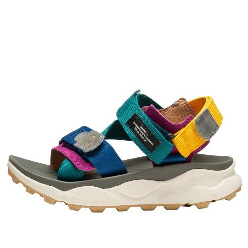 NAZCA 2 WOMAN Sandalo active multicolor AVIO-GREEN 0502837011C13-30