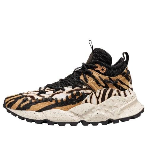 MORICAN MAN Sneaker alta in pelle animalier Animalier 2013651020D02-30