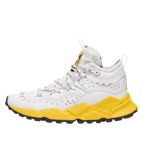 MOHICAN BRUCE Sneaker Bruce Lee WHITE-YELLOW OUT SOLE 2015070011N17-30