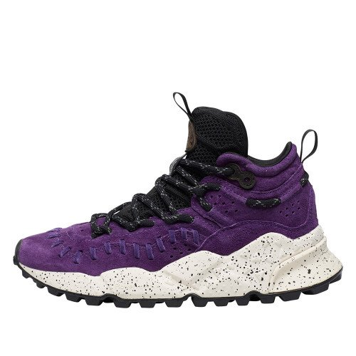 MOHICAN WOMAN Sneaker alta in suede Viola 2015289020I02-30
