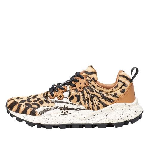 YAMANO 2 WOMAN Sneaker in suede e vitello Marrone 2015291091E06-30