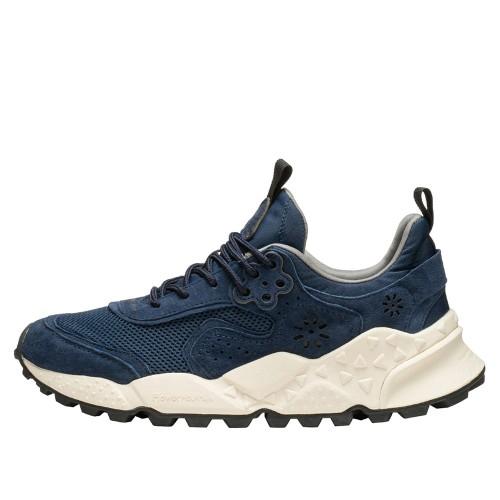 KOTETSU MAN Sneaker in suede e tessuto tecnico NAVY 2015731010C02-30
