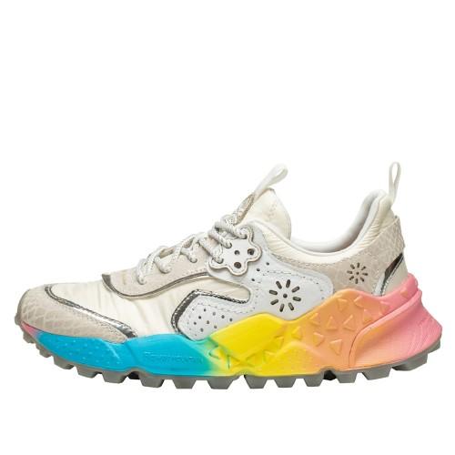 KOTETSU WOMAN Sneaker con fondo arcobaleno WHITE RAINBOW OUTSOLE 2015733020N01-30
