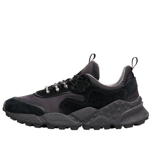 KOTETSU MAN HOOKS Sneaker in suede e tessuto tecnico Nero 2016278010A01-30
