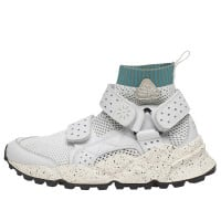 RUBICON WOMAN - Sneakers in pelle e nylon - Bianco