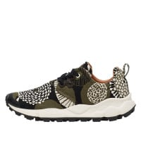 PAMPAS WOMAN - Sneaker con stampa pop - MILITARY