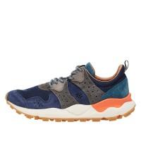 CORAX MAN - Sneaker in nylon tecnico - Blu